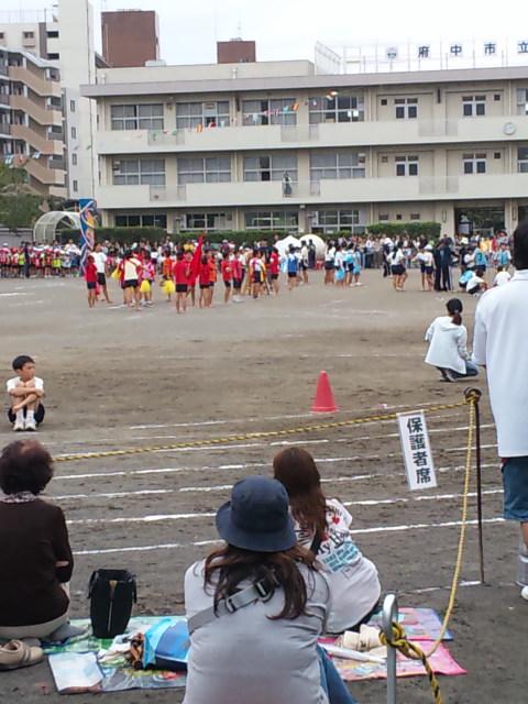 住吉小学校の運動会です。