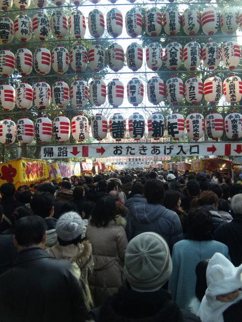 大国魂神社に初詣。